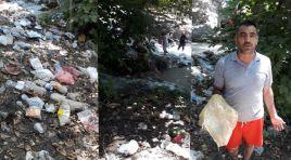 Bozovalı'ların sıkça gittiği şelale çöple doldu|Videolu Haber