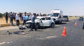 Yaslıca kavşağında trafik kazası: 3 yaralı