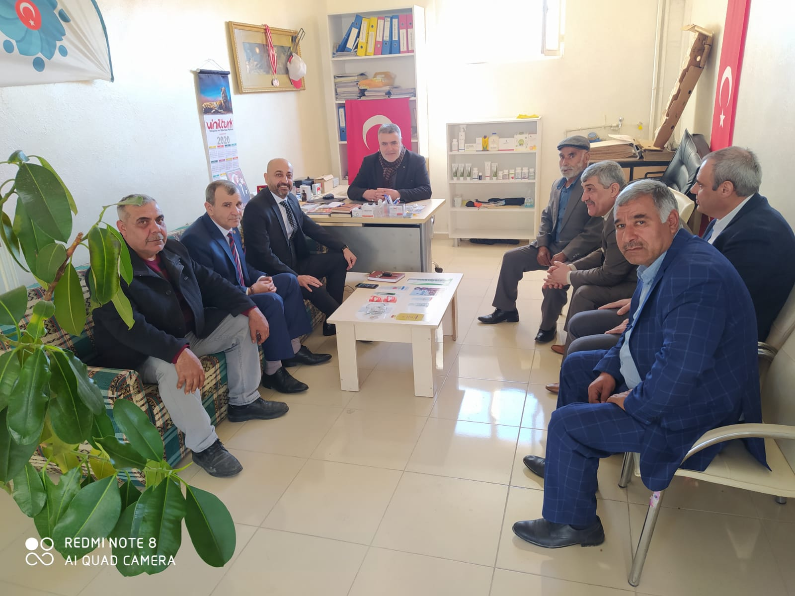 MHP'den Nezaket Ziyaretleri