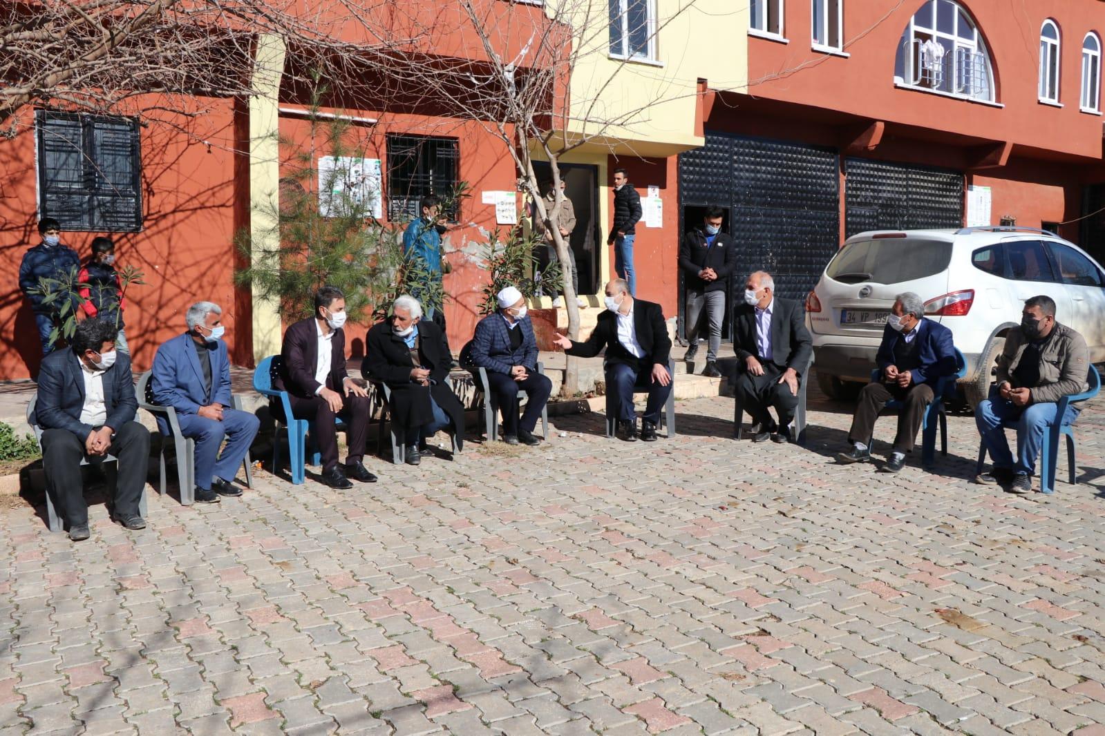 Başkan Aksoy Kırsal Mahalle Ziyaretlerine Devam Ediyor.